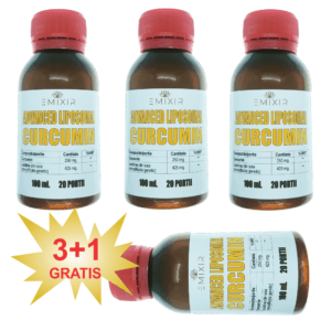 Advanced Liposomal CURCUMIN 3+1 GRATIS