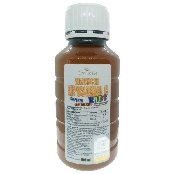 Vitamina C lipozomala liposomala pentru copii